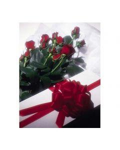 A Dozen Boxed Roses