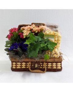 Blooming Picnic Basket